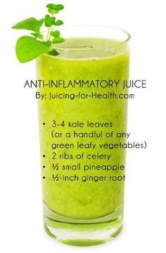 Anti inflammatory juice recipe!