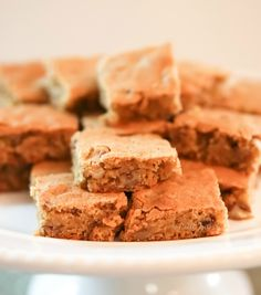 OMT's Salted Brown Sugar Butter Bars