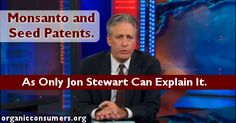 The Daily Show takes on #GMOs. Check out this great clip!
