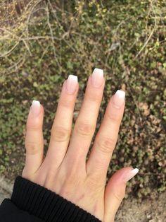 36 Elegant Ways to Wear Short Acrylic Coffin Nails - Short acrylic nails coffin - abbey Elegant Ways to Wear Short Acrylic Coffin Nails - Short acrylic nails coffin - Certainly one of w. Big Nails, Short Nails, Hair And Nails, Coffin Nails Short, Glitter Gel Nails, Cute Acrylic Nails, French Acrylic Nails, Gel Nails French Tip, Short French Tip Nails