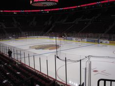 The Rose Garden.  Portland Oregon.  Home of the Portland WinterHawks  (WHL Hockey) I missed the ice this year :(