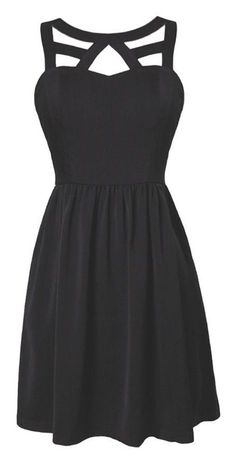 Simple Black Short Homecoming Dress, Sleeveless Formal Dress with Open Back Sexy Evening Dress