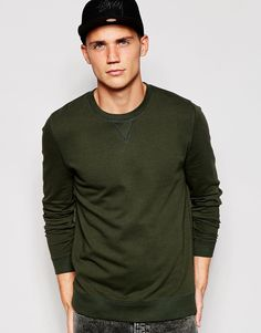 Just another good quality basic sweatshirt! Another autumnal colour that will fit right in with all your a/w wardrobe. You can wear this with indigo denim and a white shirt underneath for a slightly formal vibe.
