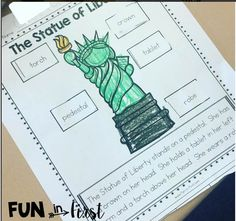 This is the perfect packet for teaching about American symbols!