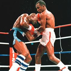 """Marvelous"" Marvin Hagler Vs ""Sugar"" Ray Leonard"