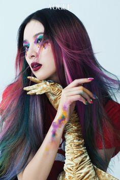 "koreanmodel: ""Irene Kim by Cha Hye Gyeong for Vogue Korea Aug 2016 """