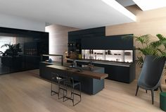 The kitchen comes to life: Valcucine V-Motion