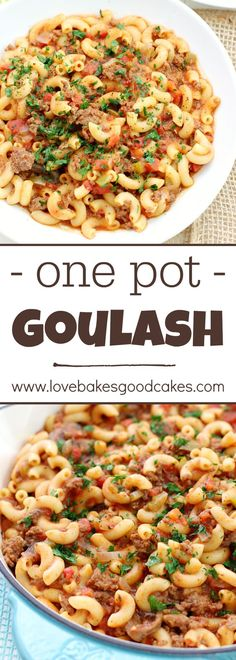 This One Pot Goulash This One Pot Goulash is comfort food. This One Pot Goulash This One Pot Goulash is comfort food that This One Pot Goulash This One Pot Goulash is comfort food that will remind you of Grandmas kitchen! A hearty and satisfying dish! Easy Dinner Recipes, Pasta Recipes, Crockpot Recipes, Cooking Recipes, Healthy Recipes, Dinner Ideas, Potato Recipes, Casserole Recipes, Chicken Recipes