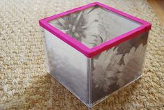 Upcycled Photo Cube — by Guest Aunt Kelly Wilkinson
