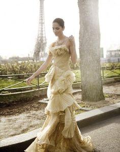 elegant dress lady