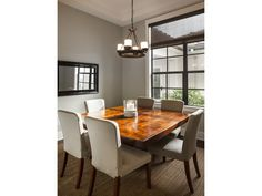 Clean transitional dining - square table - il Regalo - 6873 il Regalo Circle, Naples, FL 34109
