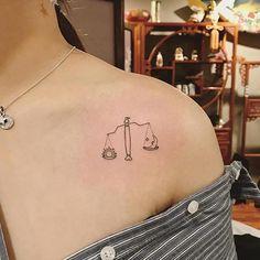 37 Permanent Libra Tattoo Ideas for Voluptuous Ladies - 37 Permanent Libra Tattoo . - 37 permanent Libra tattoo ideas for voluptuous women – 37 permanent Libra tattoo ideas for volupt - Libra Scale Tattoo, Libra Zodiac Tattoos, Libra Constellation Tattoo, Aquarius Tattoo, Dope Tattoos, Tatuajes Tattoos, Sun Tattoos, Small Tattoos, Tattos