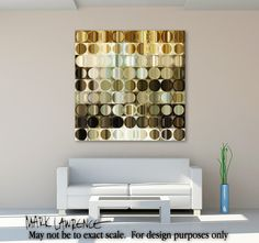Mark Lawrence's modern abstract fine art is celebrated for his use of vibrant blended colors, painted shapes, and abstract eye-popping patterns. His unique, signature-style handcrafted geometric desig