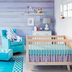 Violet Dots Nursery Room : Target