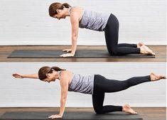 6 cviků na ploché břicho, které by měla dělat každá žena! - Zdravestravovani.eu Pilates Workout, Tabata, Exercise, Yoga For Golfers, Leg Lifts, You Can Do, At Home Workouts, Fit Women, Funny Pictures