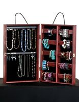Portable Jewelry Showcase for Bracelets