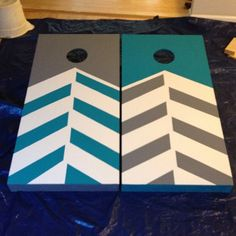 repainting corn hole boards!