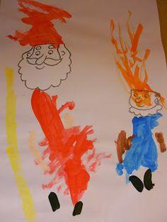 Schilderen Sint en Piet