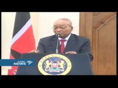 #2016Feesmustfall - President Zuma responds to the feesmustfall movement