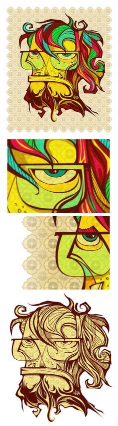 Color Guy by Antonio de Padua Neto78, #illustration