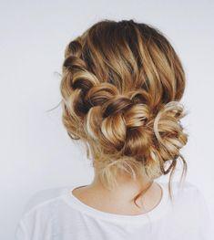 31 Gorgeous braid hairstyle - weekend hair dos,braids , pull through #hair #hairstyle #hairstyles