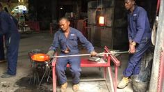 This video is about Kitengela Hot Glass Studio