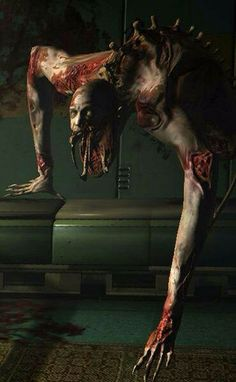 Dead Space enemy. These dudes are low to the ground and harder to kill.