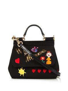 Mini Sicily embellished cross-body bag   Dolce & Gabbana   MATCHESFASHION.COM UK   #MATCHESFASHION
