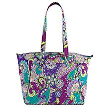 Travel Tote in Heather | Vera Bradley