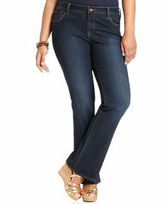 Lucky Brand Jeans Plus Size Jeans, Ginger Bootcut, Randelman Wash - Plus Size Jeans - Plus Sizes - Macy's