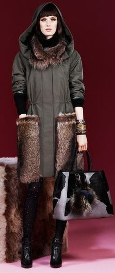 Fendi Pre-fall 2013 #warm #chic