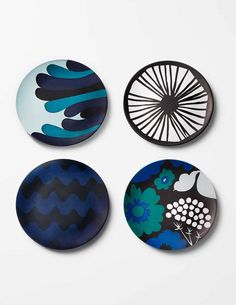 Featured Season 2 Episode 11 on Pinheads Podcast on the Life:examined Network at Southgate Media Group. - marimekko for Target, Nicely Served, home look 2 Marimekko, Pottery Painting, Ceramic Painting, Ceramic Plates, Ceramic Pottery, Ceramic Cafe, Cerámica Ideas, Plate Art, Ceramic Design