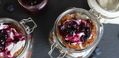 Blueberry Carrot Cake Parfaits