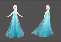 Frozen character design | Illustrator: Brittney Lee