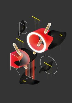 Assorted Posters #01 by Royal Studio, via Behance