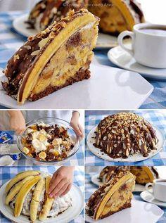 Pancho torta (banános bomba)