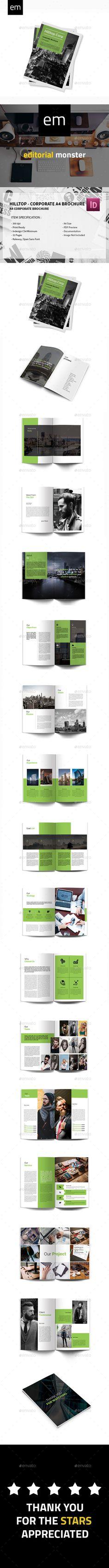 Hilltop - Corporate A4 Brochure