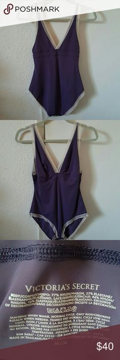🔥 🔥 🔥 COMMENT PRICE 🔥 BODYSUIIT Purple with tiny bit of lace Seen on the show blackish Victoria's Secret Intimates & Sleepwear