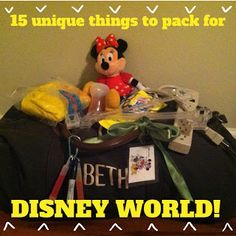 15 things you may not think about packing for Disney World but should