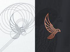 A Daily Source For Logo Design Inspiration - Logos Graphisches Design, Grid Design, Icon Design, Logo Inspiration, Restaurant Logo, Typographie Logo, Bold Logo, Affinity Designer, Logo Concept