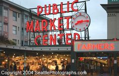 Pike Place Market - Seatle Been there, Donne that, Loved it !!!