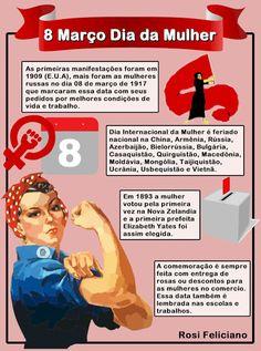 Dia Internacional da Mulher   7 Doenças Femininas para Você Evitar  Dia 8 de março é Dia Internacional da Mulher esse dia marca a luta por melhores condições de vida e trabalho tudo iniciou pelas mulheres russas 1917 por isso preparamos uma matéria que vai te ajudar a prevenir as doenças que mais atacam as mulheres.  Existem algumas doenças e outra circunstancia que afetam as mulheres como o cancro da mama (embora os homens podem obtê-lo também) e os transtornos alimentares (homens podem…