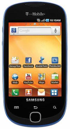Samsung Gravity Smart Android Phone, Sapphire Blue (T-Mobile) - http://androidizen.com/shop/samsung-gravity-smart-android-phone-sapphire-blue-t-mobile/