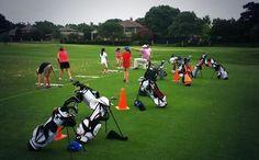 Junior golf promotes wellness through outdoor activities.