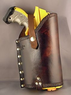 Leather Nerf holster - Maverick -