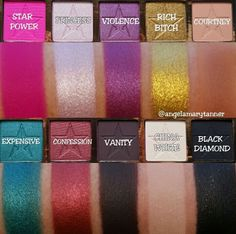 "Jeffree Star ""Beauty Killer"" palette // Patrizia Conde"