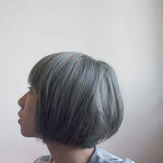 new hair color Popular Short Hairstyles, Bob Hairstyles, Haircuts, Ellie Goulding Hair, Short Hair Cuts, Short Hair Styles, Grey Hair Dye, Hair Issues, New Hair Colors
