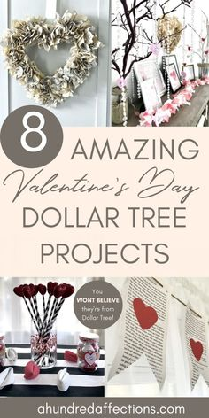 8 Ridiculously Cheap (& Easy) Valentine's Day DIY Projects from Dollar Tree - A Hundred Affections Valentine Desserts, Valentine Day Crafts, Valentine Decorations, Sugar Cookie Cups, Lemon Sugar Cookies, Mocha Cheesecake, Low Carb Cheesecake, Banana Carrot Muffins, Sugar Free Mints