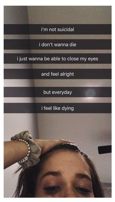 Because suicide would just pass it on. I'm just trying to find a way to get rid of the pain. And i believe that way is you. Meaningful Quotes, Inspirational Quotes, Depression Quotes, Quote Aesthetic, How I Feel, In My Feelings, True Quotes, That Way, Vsco