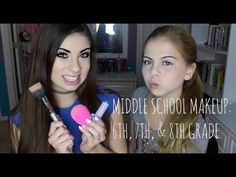 MIDDLE SCHOOL MAKEUP: 6th, 7th, & 8th Grade! | imthaaatgirl07 ♡ - YouTube
